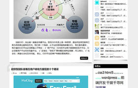 wordpress中文主题:中文博客xunclub主题