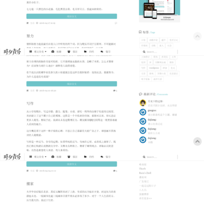 wordpress極簡優秀的博客主題–ErlSimple